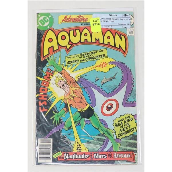 DC ADVENTURE COMICS AQUAMAN #451 30 CENT COMIC