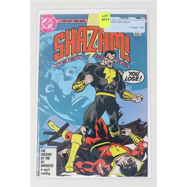 DC COMICS SHAZAM #3