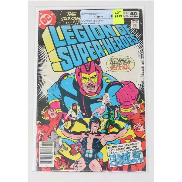 DC COMICS LEGION OF SUPER-HEROS #262