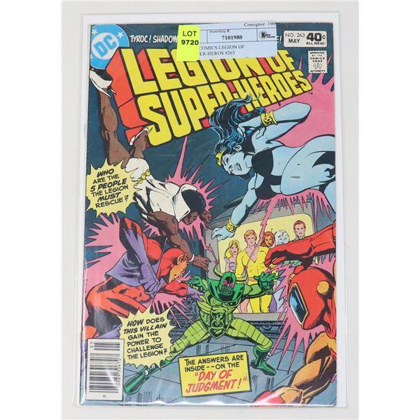 DC COMICS LEGION OF SUPER-HEROS #263