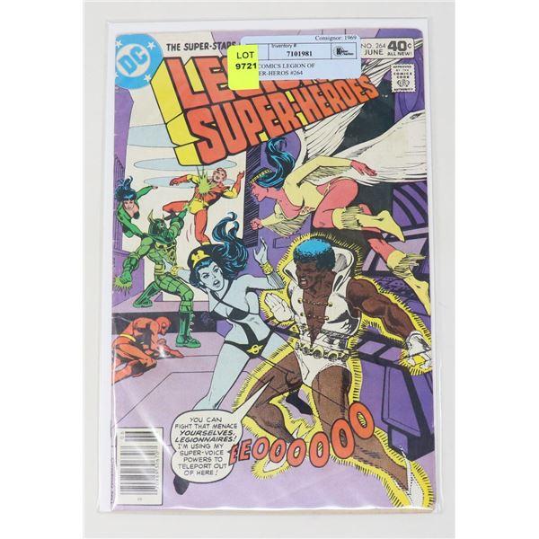 DC COMICS LEGION OF SUPER-HEROS #264