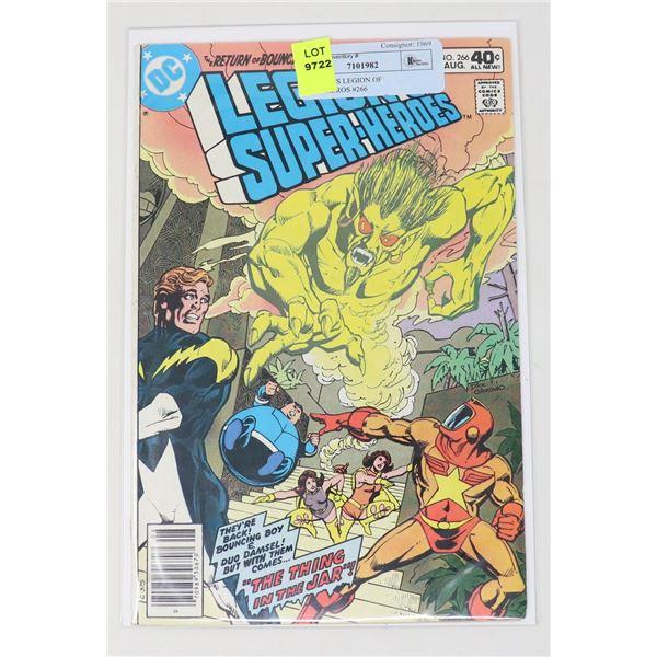 DC COMICS LEGION OF SUPER-HEROS #266