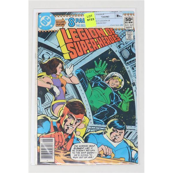 DC COMICS LEGION OF SUPER-HEROS #267