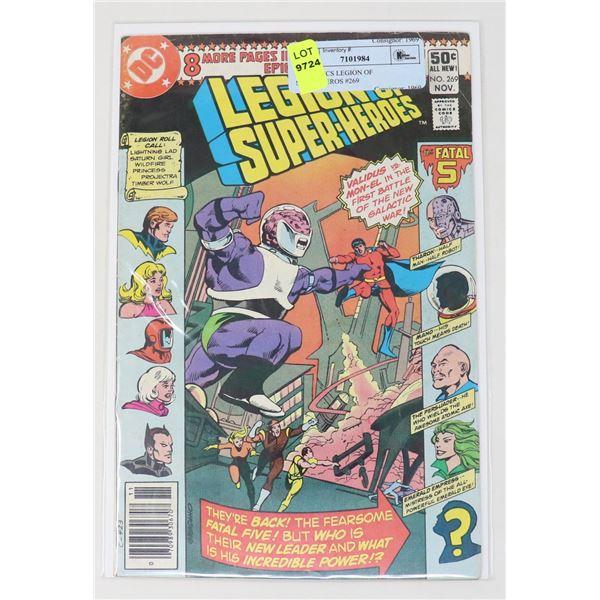 DC COMICS LEGION OF SUPER-HEROS #269
