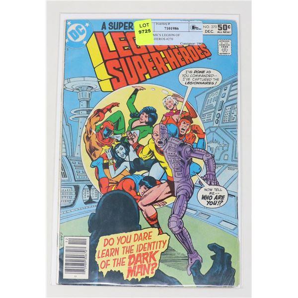 DC COMICS LEGION OF SUPER-HEROS #270
