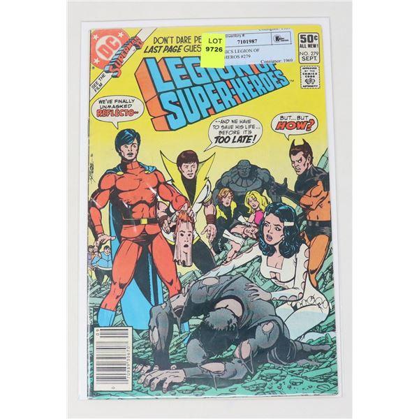 DC COMICS LEGION OF SUPER-HEROS #279