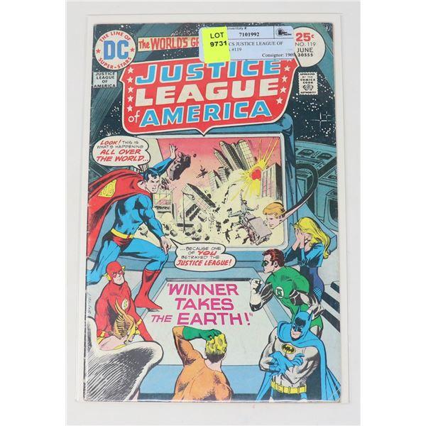 DC COMICS JUSTICE LEAGUE OF AMERICA #119