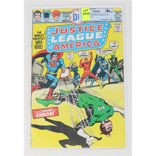 DC COMICS JUSTICE LEAGUE OF AMERICA #127