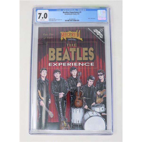 CGC GRADED 7.0 ROCK N ROLL THE BEATLES EXPERIENCE