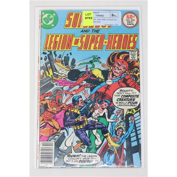 DC SUPERBOY AND THE LEGION OF SUPER HEROS #234