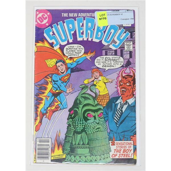 DC COMICS SUPERBOY #2