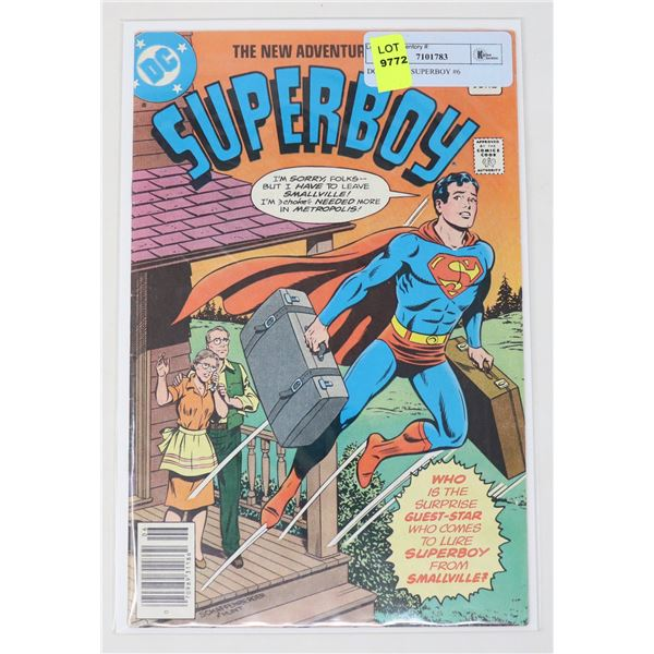 DC COMICS SUPERBOY #6