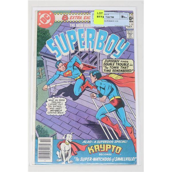 DC COMICS SUPERBOY #10