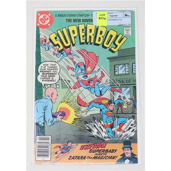 DC COMICS SUPERBOY #14