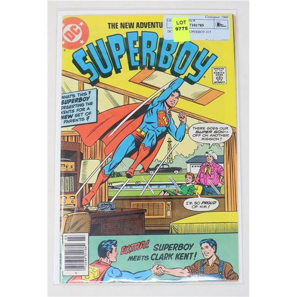 DC COMICS SUPERBOY #15