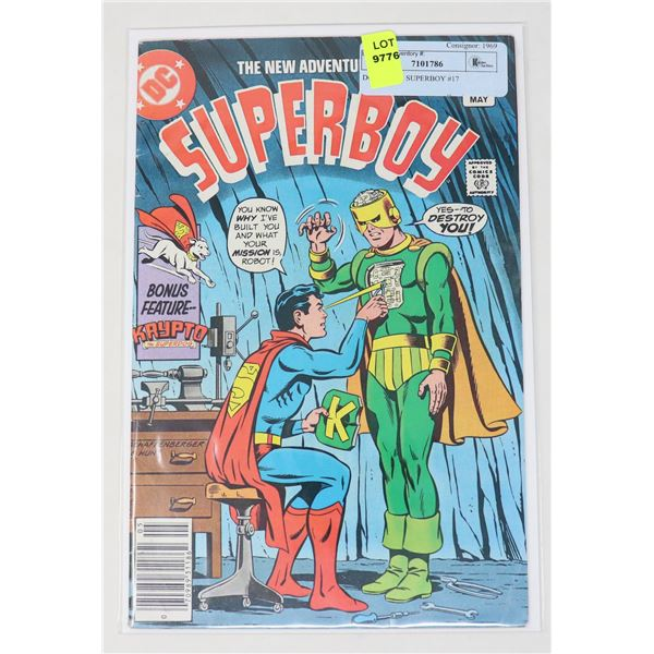 DC COMICS SUPERBOY #17