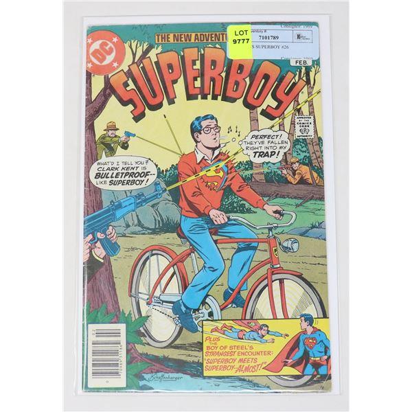 DC COMICS SUPERBOY #26