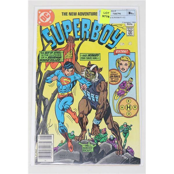 DC COMICS SUPERBOY #32