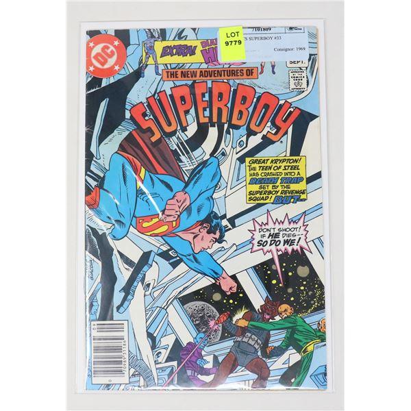 DC COMICS SUPERBOY #33