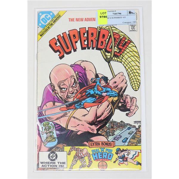DC COMICS SUPERBOY #35