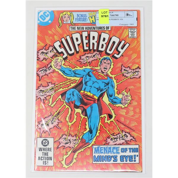 DC COMICS SUPERBOY #36