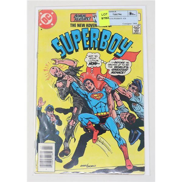 DC COMICS SUPERBOY #38