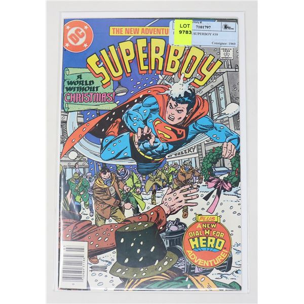 DC COMICS SUPERBOY #39
