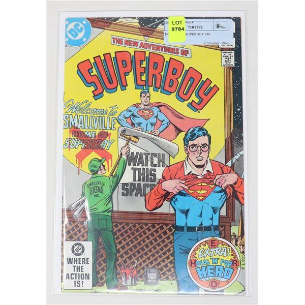 DC COMICS SUPERBOY #40