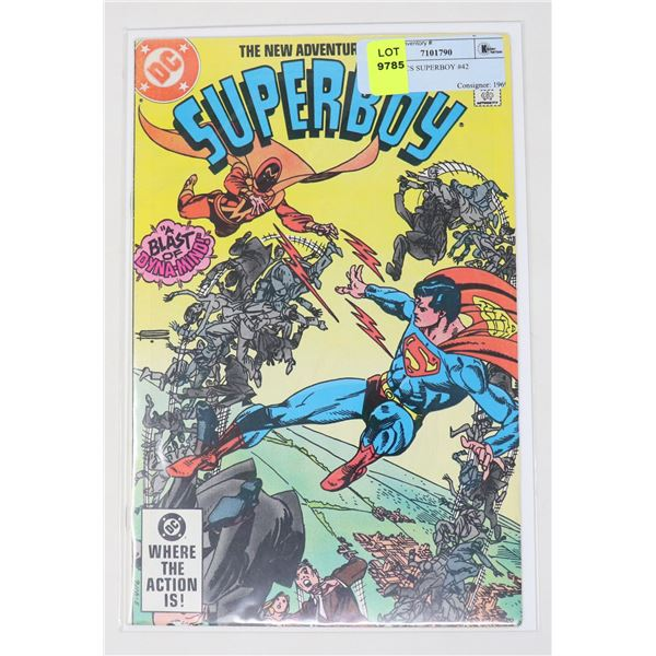 DC COMICS SUPERBOY #42