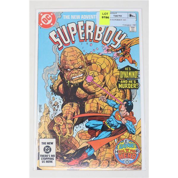 DC COMICS SUPERBOY #43