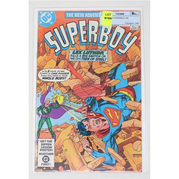 DC COMICS SUPERBOY #48