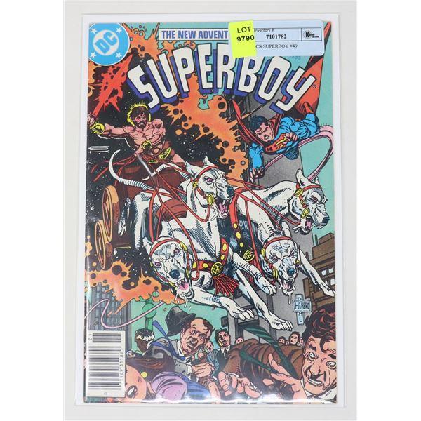 DC COMICS SUPERBOY #49