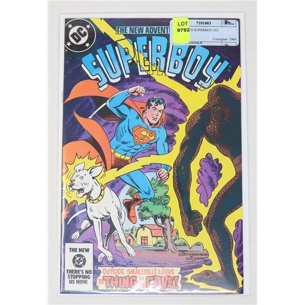 DC COMICS SUPERBOY #52