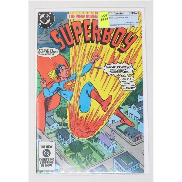 DC COMICS SUPERBOY #53