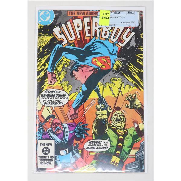 DC COMICS SUPERBOY #54