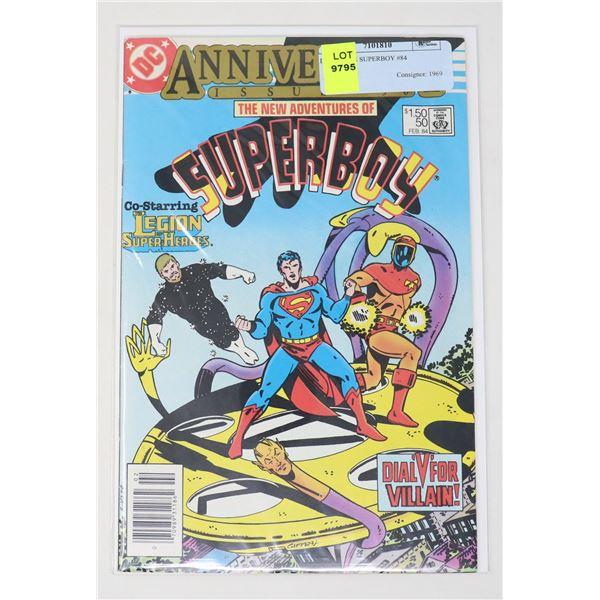 DC COMICS SUPERBOY #84