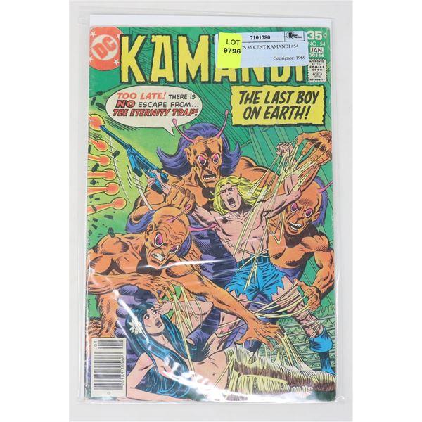 DC COMICS 35 CENT KAMANDI #54