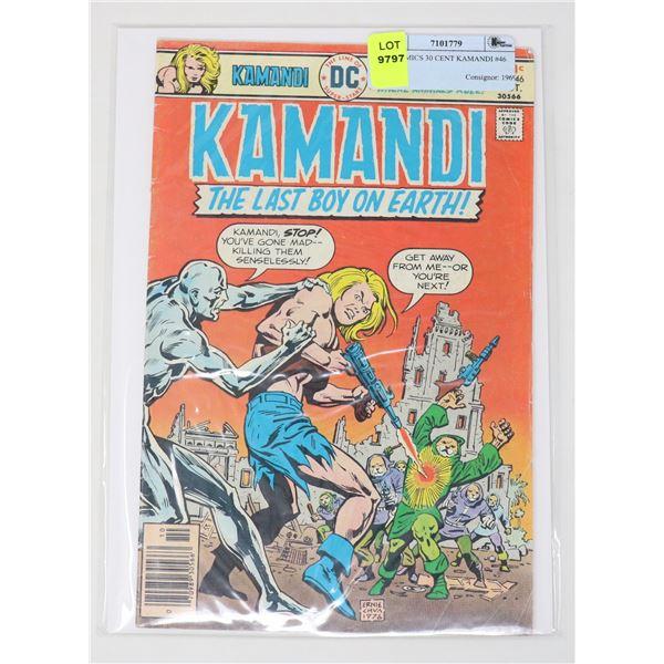 DC COMICS 30 CENT KAMANDI #46