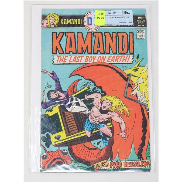 DC COMICS 25 CENT KAMANDI #38