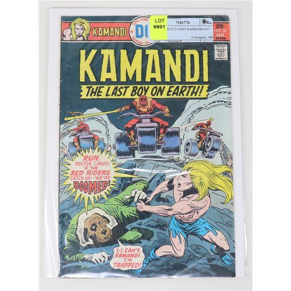 DC COMICS 25 CENT KAMANDI #37
