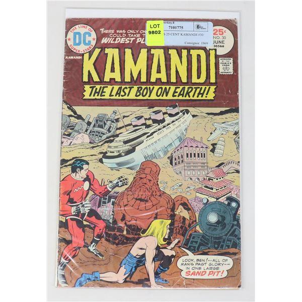 DC COMICS 25 CENT KAMANDI #30