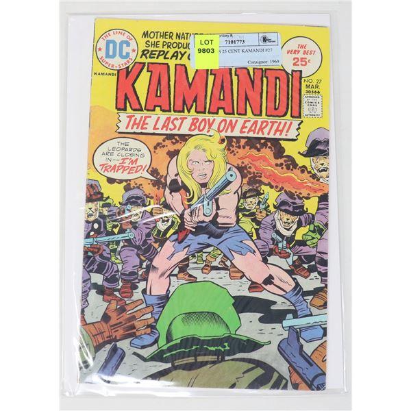 DC COMICS 25 CENT KAMANDI #27
