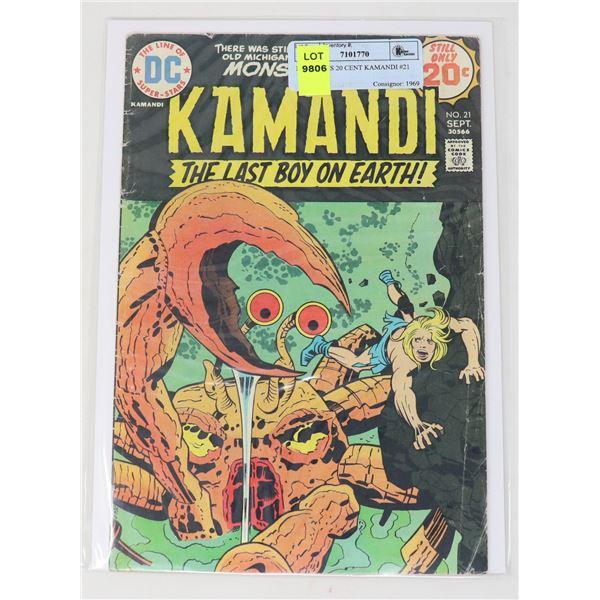 DC COMICS 20 CENT KAMANDI #21