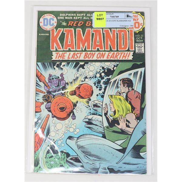 DC COMICS 20 CENT KAMANDI #22