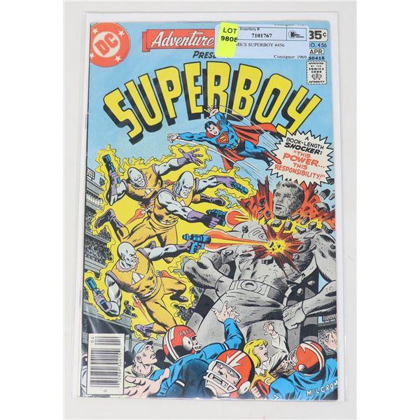 DC COMICS SUPERBOY #456