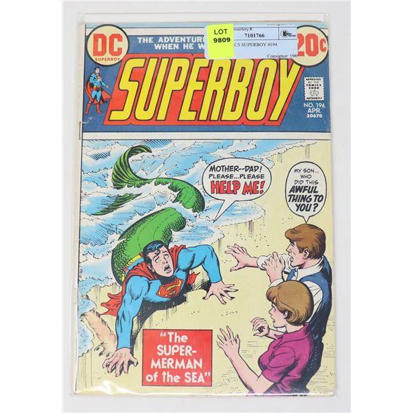 DC COMICS SUPERBOY #194