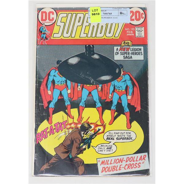 DC COMICS SUPERBOY #193
