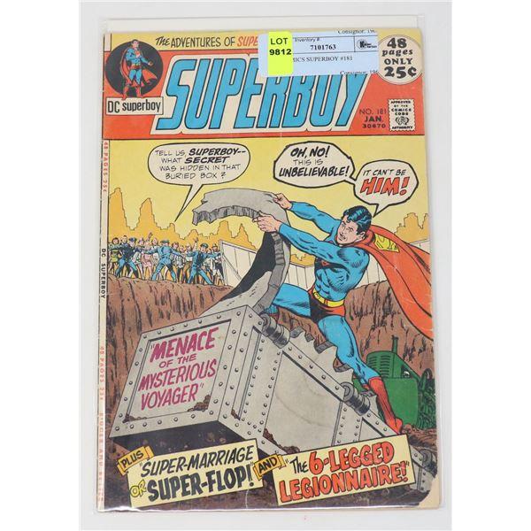 DC COMICS SUPERBOY #181