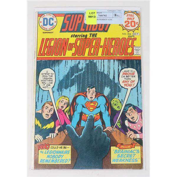 DC COMICS SUPERBOY #204