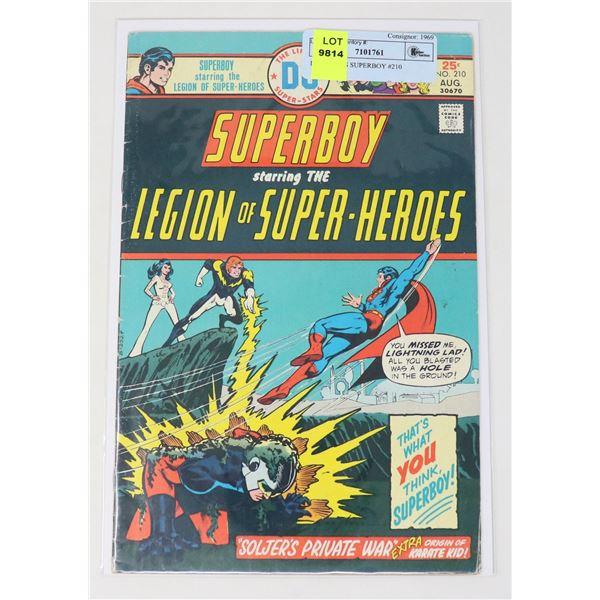 DC COMICS SUPERBOY #210